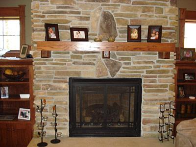 Custom Fireplace Mantles - Brainerd Custom Wood Products